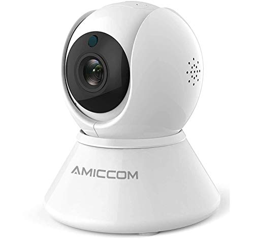 Wireless Security Camera, WiFi Camera Indoor Home 1080p HD Pan/Tilt/Zoom Cam Pan Wi-Fi Smart IP Camera for Baby/Pet/Nanny, Motion Detection, 2 Way Audio Night Vision