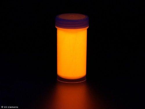 Neon UV-Lack spezial Nachleuchtend 50ml - orange