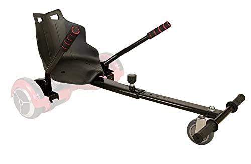Zerimar Airel Hoverkart | Kart per Hoverboard | Adatto per Hoverboard | Hoverboard Kart | 6,5/8 / 10'' | Misure: 55x47x20 cm