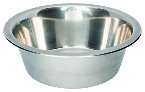 Trixie 6183 Edelstahlnapf, 0,45 l/ø 12 cm