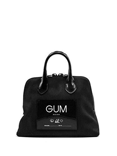 GUM Gianni Chiarini Design | Borsa a Mano CNV-LUX Media Nero | GUM_BS1980/19AI_0344