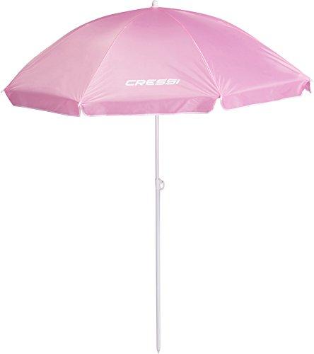 Cressi Umbrella Beach Sonnenschirm, Rosa, 160 cm