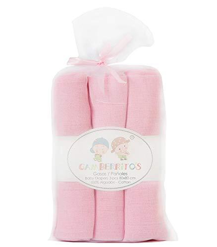 Gamberritos 9679b - Gasas, Color Rosa