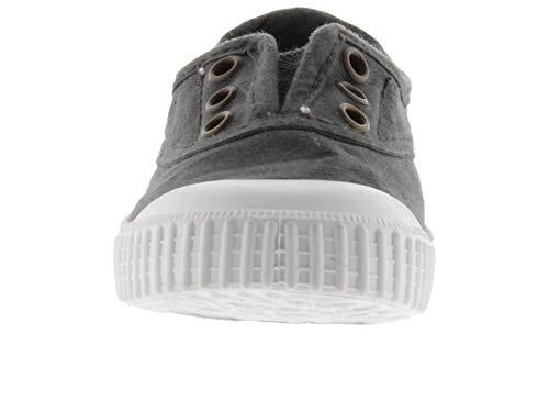 Victoria - Zapatillas para Mujer, Color Plomo, Talla 42