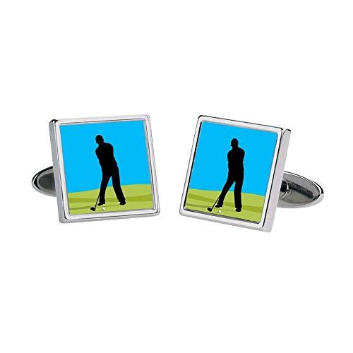 Sonia Spencer - Boutons De Manchette, Golfer, Moving Image