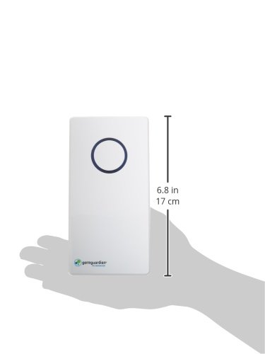 GermGuardian GG1100W Elite Pluggable UV-C Sanitizer and Deodorizer, Kills Germs, Freshens Air and Reduces Odors from… 9 PLUGGABLE AIR SANITIZER : Provides cleaner air and helps reduce airborne germs and reduce household odors caused by bacteria, pets, and cooking fumes COMPACT DESIGN: This 7 inch wall pluggable sanitizer is perfect for the kitchen, litter box room, bathroom, or childrens' room REDUCES ODORS : Reduce unwanted odors from pets, smoke, cooking fumes, and more