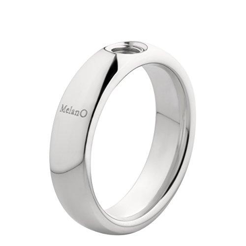 MelanO Vivid Ring in Edelstahl 6 mm M01R 9010 (60 (19.1))