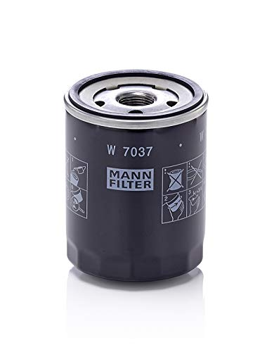 Original MANN-FILTER W 7037 - Schmierölwechselfilter - für PKW