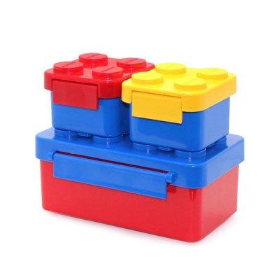 Lego Bricks Series Cajas de almuerzo de plástico para niños