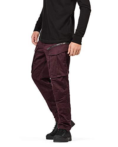 G-STAR RAW Mens Rovic Zip 3D Straight Tapered Pants, 31W x 34L, Plumeria