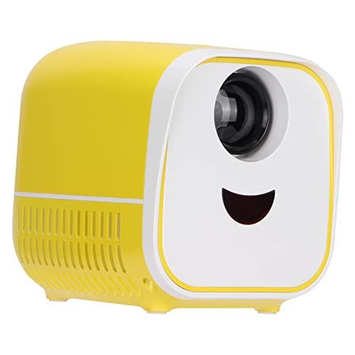 Mini Proyector,Proyector De Video Portátil LED Digital HD A Todo Color Con Interfaces HDMI USB AV Proyector De Películas Pico Para Niños Presentes, Video TV, Películas, Juegos De Fiesta(EU)