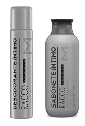 Sabonete Intimo E Desodorante Masculino Racco