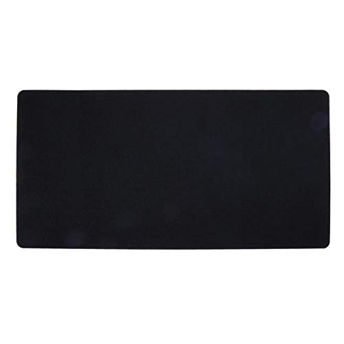 YWSZY-Mouse Pad Tapis De Bureau en Feutre Tapis De Souris en Tissu Tapis De Souris pour Ordinateur Portable Tapis De Bureau Design Moderne @ Noir