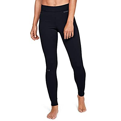 Under Armour Women's Base Leggings 2.0 , Black (001)/Pitch Gray , Small
