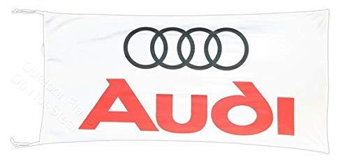 Cyn Flags AU-DI Fahne Flagge Weiss 2.5x5 ft 150 x 75 cm