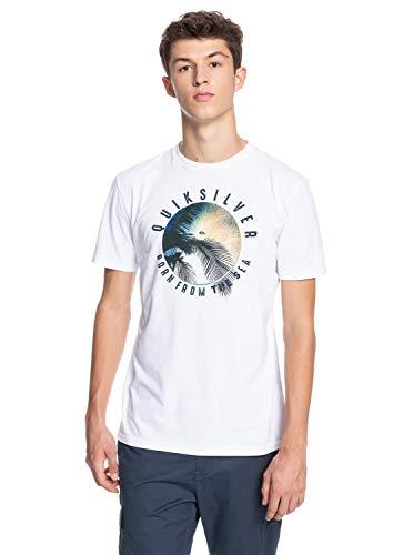 Quiksilver™ Ocean of Night Tshirt for Men Tshirt Männer L Weiss