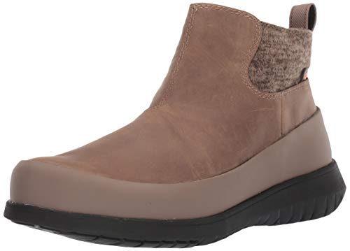 BOGS Women's Freedom Ankle Waterproof Insulated Winter Snow Boot, Taupe, 8.5 M US