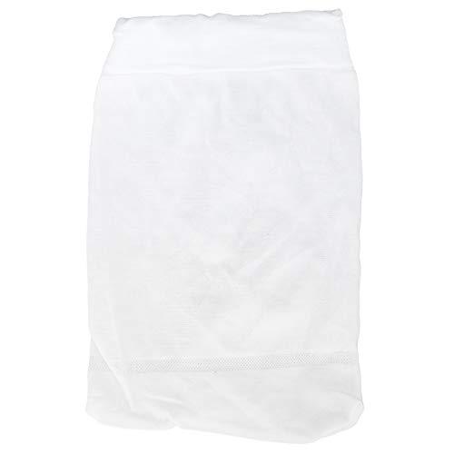 Raguso Bolsa de Filtro de Fibra de Nailon Bolsa de Malla de Limpieza para Piscina Accesorios de Limpieza para Limpieza de Hojas de Piscina