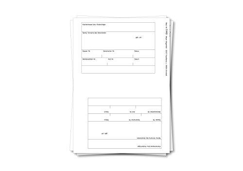 Adressfeldetiketten von MEYER-WAGENFELD   Selbstklebend   2 Etiketten je Trägerblatt   Farbe: Weiß   100 Stück