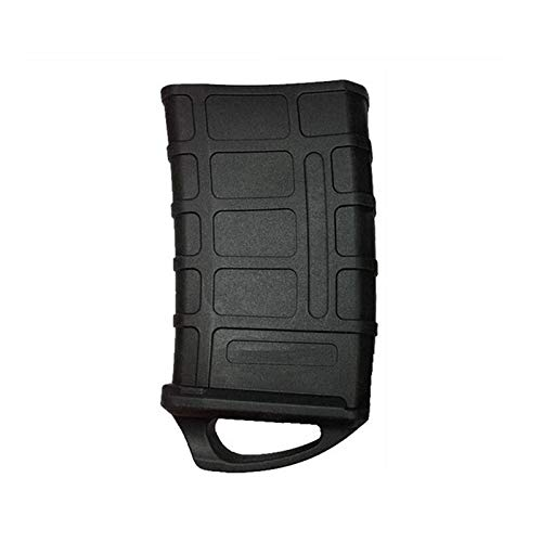 SHIYM-DJIA, For M4 / M16 Fast Magazine Rubber Holster Jacht Tactical Rubber Pouch 5,56 NAVO Mag Bag waterpistool Cartridge Accessoires (Color : Black)