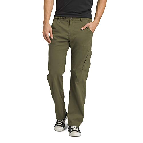 prAna - Men's Stretch Zion Lightweight, Durable, Water Repellent Pants for Hiking and Everyday Wear, 32