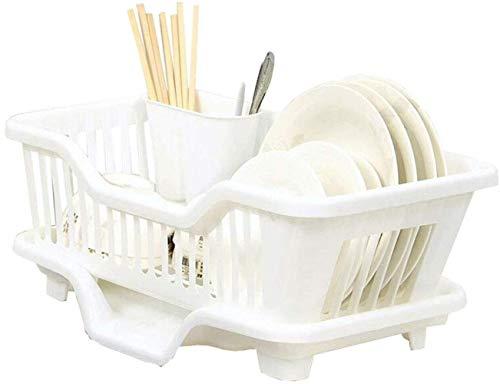 XXT Cuisine drain Crémaillère en plastique Support de rangement de vidange des ménages bol et Arts de la table