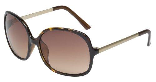 Schöne Marken Sonnenbrille für Damen von Burgmeister mit 100% UV Schutz | Sonnenbrille mit stabiler Polycarbonatfassung, hochwertigem Brillenetui, Brillenbeutel und 2 Jahren Garantie | SBM108-342