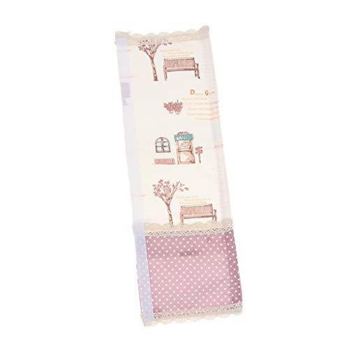 SM SunniMix Couvertures de Poignée de Porte de Réfrigérateur Tissu Élastique, Protège Réfrigérateur, Micro-Ondes, Four
