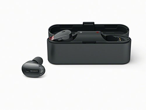 Sony WF1000X - Auriculares inalámbricos (Cancelación de Ruido, Sense Engine, Bluetooth, Compatible con aplicación Headphones Connect) Negro