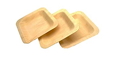 Perfect Stix Wooden Disposable plates