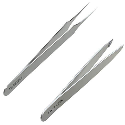 Tweezees Precision Stainless Steel Tweezers