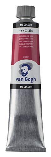 Tar Lenth Van Gogh oil paint 200ml Quinacridone Rose 413 790 (japan import)