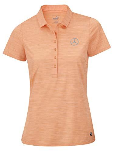 Mercedes-Benz Collection 2020 Golf-Poloshirt Damen, orange, Puma