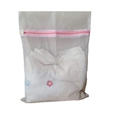 Winkey Washing Bag Mesh, Underwear Aid Bra Socks Lingerie Laundry Washing Machine Mesh Bag (M)