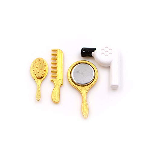 Miniatura Secador De Pelo Espejo Cepillo
