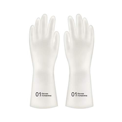 Huiswerk met niet-wekkende handschoenen, washandjes, vrouwelijke keuken, van rubber, huishoudtextiel, dun, robuust L 1 x Polsband