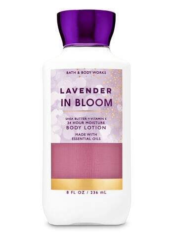 Bath and Body Works Lavender in Bloom Body Lotion 8 Ounce Full Size