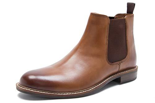 Red Tape Herren Bateman Chelsea Boots, Braun (Tan 0), 45 EU