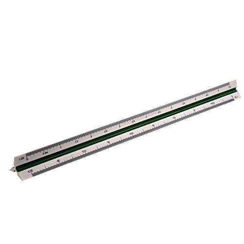 1:20 1:25 1:50 1:75 1:100 1:125 Kunststoff dreieckiges Massstab Lineal