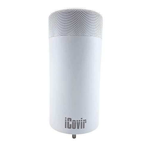 NEU: iCovir-basic UVC Luftreiniger reduziert Aerosole, Viren und Keime aus der Raumluft, UV Lampe zur Desinfektion, Air Purifier made in Germany, ozonfrei, umweltfreundlich und kindersicher.