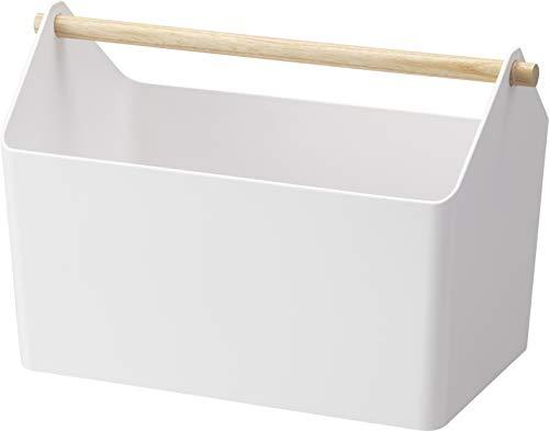 山崎実業(Yamazaki) おもちゃ収納 収納ボックス 約W37XD21XH24cm ファボリ ホワイト 3465