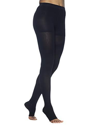 SIGVARIS Women's DYNAVEN Open Toe Pantyhose 20-30mmHg