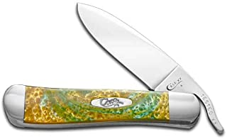 CASE XX Turquoise Dream Corelon Russlock Stainless Pocket Knife Knives