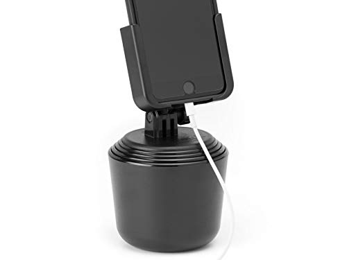 WeatherTech CupFone Universal Cup Holder for Car Phone Mount Automobile Cradle Compatible with iPhone and Cell Phones