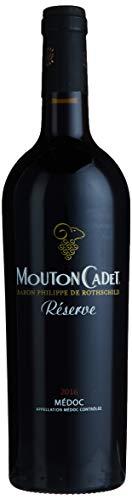 Baron Philippe de Rothschild Mouton Cadet Réserve Medoc 2015/2016, (1x 0,75 l)