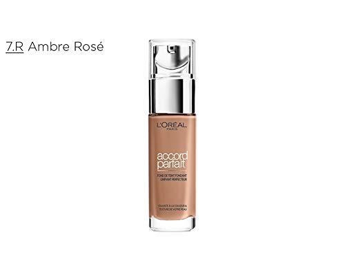 L 'Oréal Paris Accord Parfait fluido 7.r ámbar Rosé