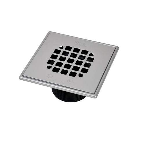 Oatey 42290, 130 Series ABS Square Barrel Only, Snap-in Strainer, Pack of 24 pcs