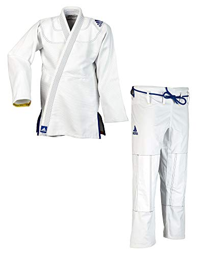 "adidas BJJ Anzug Challenge 2.0"" weiß JJ350 (A2)"
