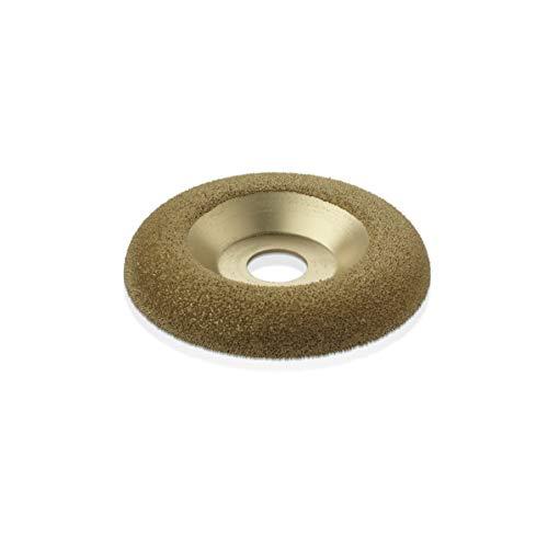 "Kutzall Original Shaping Dish - Fine, 4-1/2"" (114.3mm) Dia. X 7/8"" (22.2mm) Bore - Woodworking Angle Grinder Attachment for DeWalt, Bosch, Milwaukee, Makita. Abrasive Tungsten Carbide, DW412O230"