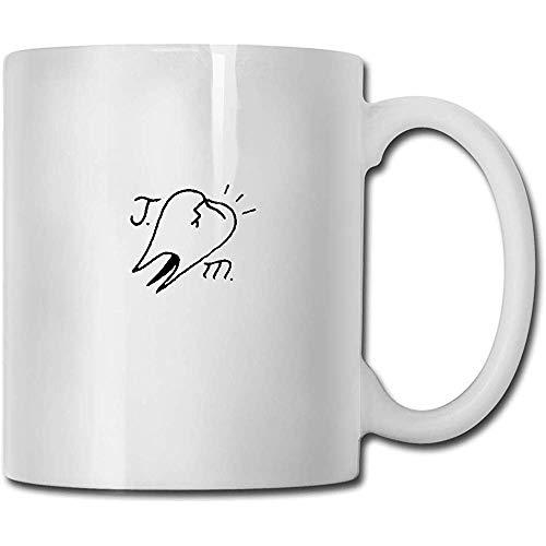 Tassen Joyce Manor handgemachte Design lustige Kaffeetasse Tee Cup Geschenk für Fans Mann Frau Freundin weiß